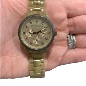 Michael Kors Women's Ritz Sand Watch 36mm MK5641